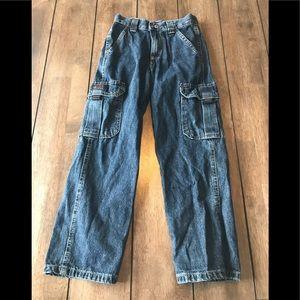 Wrangler Children cargo jeans Boy Girl Size 7 slim